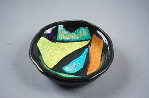 Heady Black Dichro Ashtray