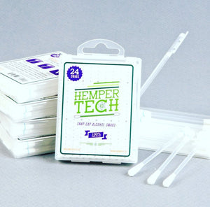 Hemper Tech Snap Cap Alcohol Swabs