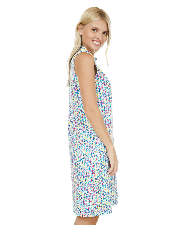 Futuna Halter Dress