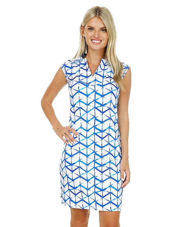 St. Barts Sleeveless Polo Dress