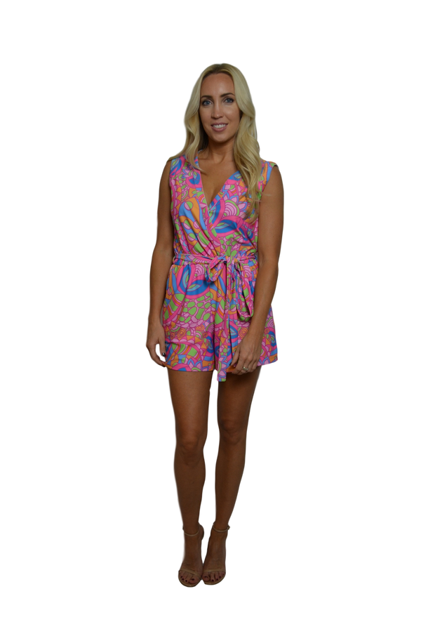 Natalie Sleeveless Romper