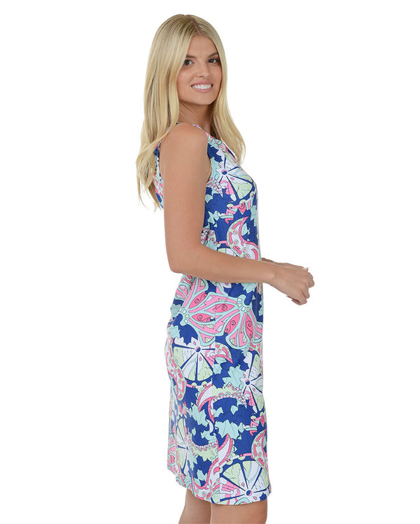 Caye Caulker Keystone Halter Dress