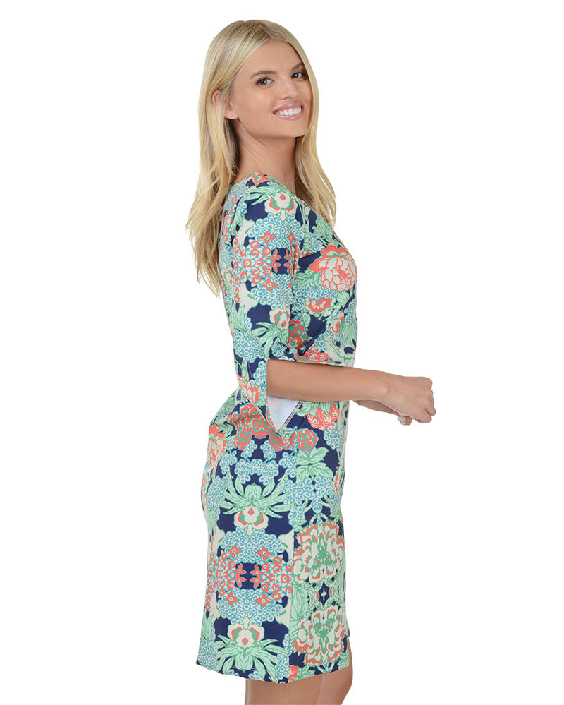 Molokai 3/4 Sleeve Dress