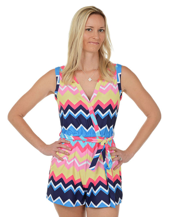 Copacabana Sleeveless Romper