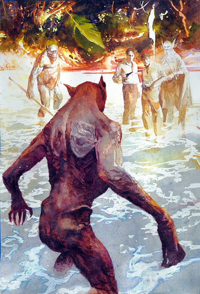 The Island of Dr Moreau by Bill Sienkiewicz