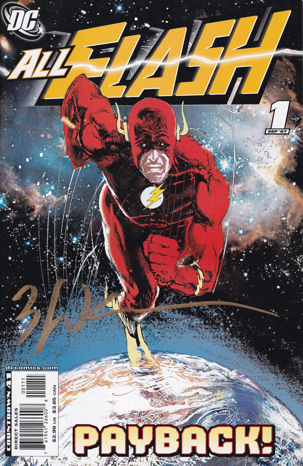 All Flash #1 Signed