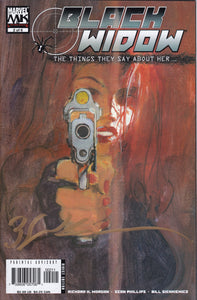 Black Widow The Things They Say About Her #2 Signed