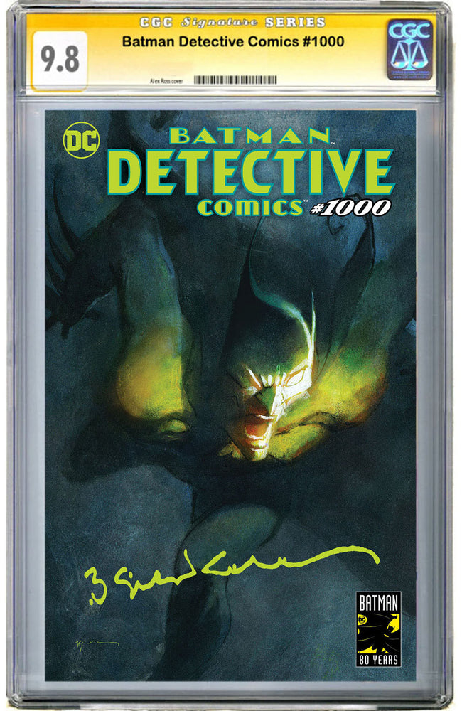 Detective Comics #1000 Sienkiewicz Exclusive CGC 9.8 Signature Series