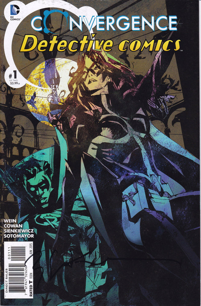 Convergence: Detective Comics #1 Signed