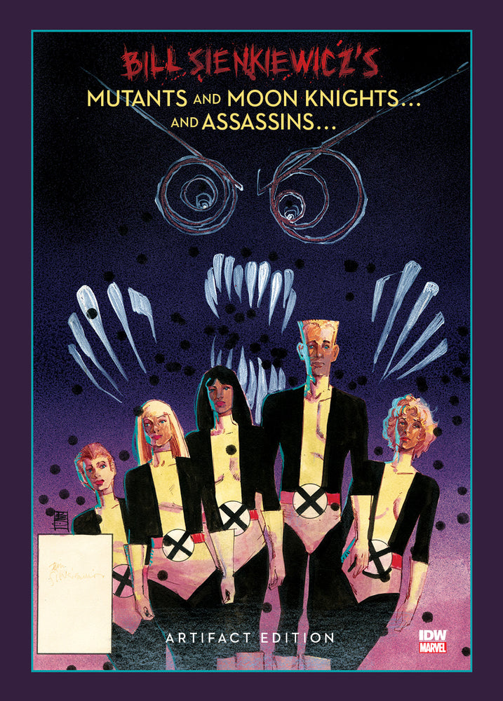 Bill Sienkiewicz Mutants & Moon Knights Assassins Artifact Edition Signed & Numbered + Remark