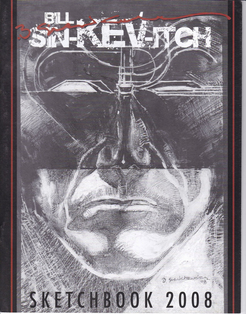 Bill Sienkiewicz Sketchbook 2008 SC