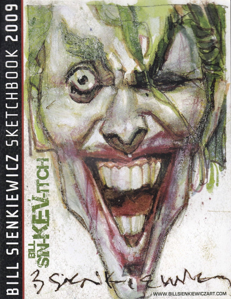 Bill Sienkiewicz Sketchbook 2009 SC