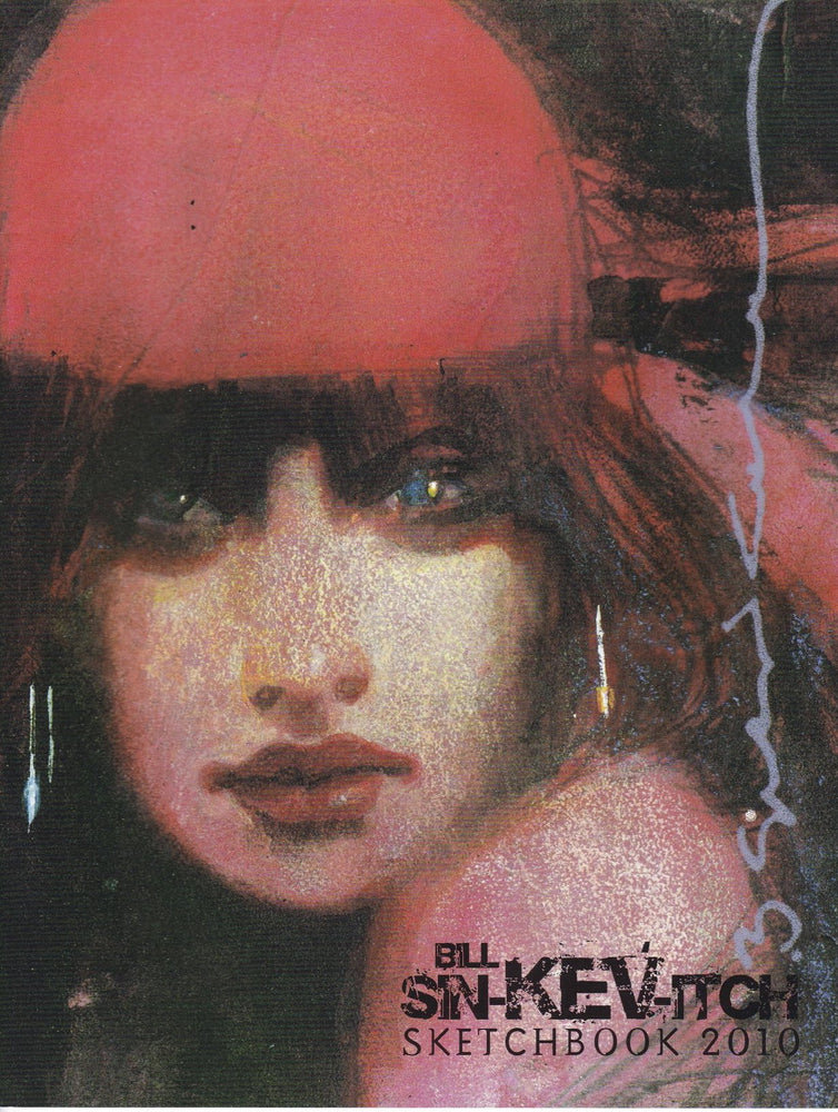 Bill Sienkiewicz Sketchbook 2010 SC