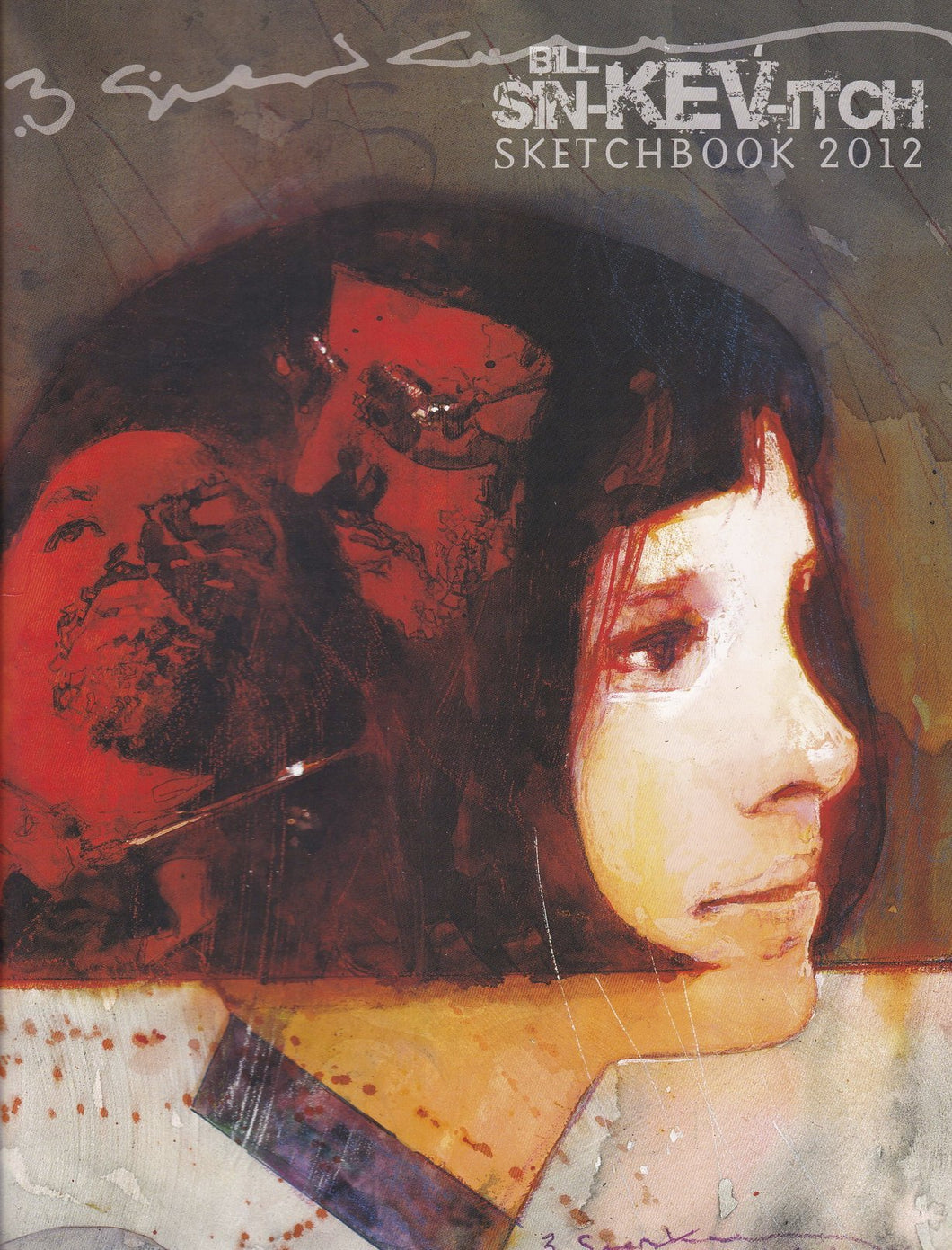 Bill Sienkiewicz Sketchbook 2012 SC