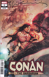 Conan #1 Sienkiewicz Variant Signed