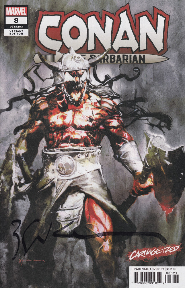 Conan the Barbarian #8 Carnage-ized Variant Signed