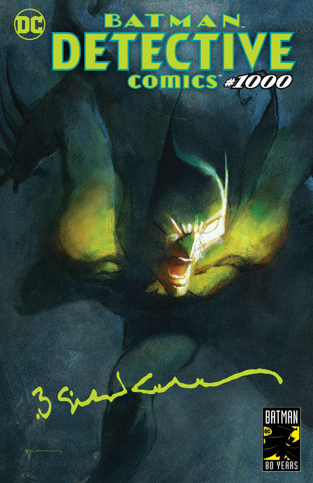 Detective Comics #1000 Sienkiewicz Exclusive - Signed