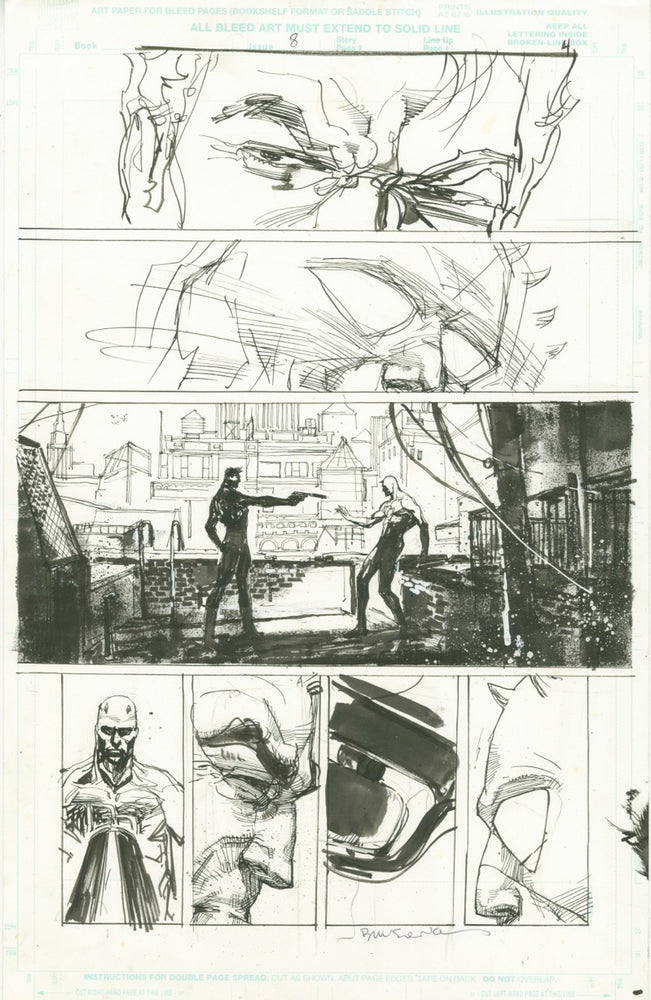 Daredevil/Punisher Unused Page
