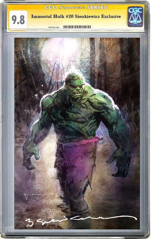 Immortal Hulk #20 Sienkiewicz Exclusive CGC 9.8 Signature Series