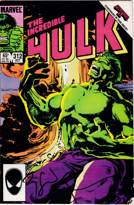 Incredible Hulk #312