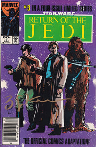 Star Wars Return of the Jedi #3 Signed