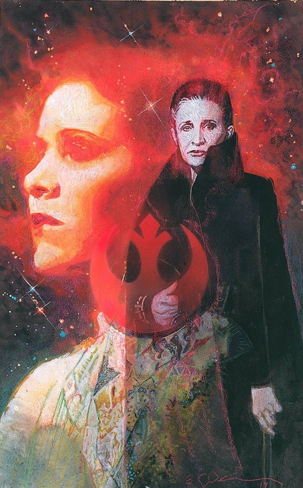 Carrie Fisher Signed