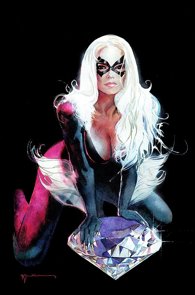 Black Cat #2 Sienkiewicz Exclusive Signed