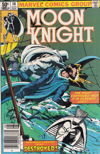Moon Knight #10 Signed