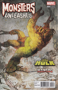 Monsters Unleashed #4 SIGNED
