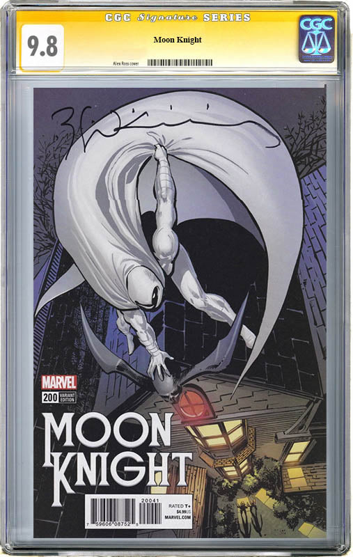 Moon Knight #200 Remastered CGC 9.8 SS