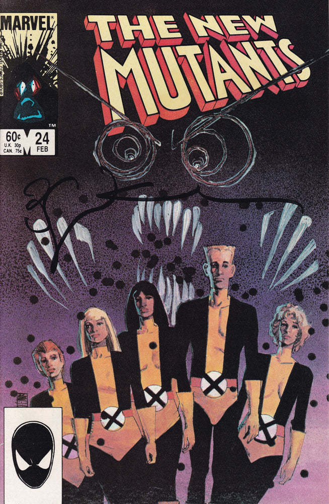 New Mutants #24 Signed