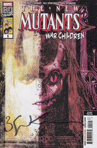 New Mutants War Children #1 Variant Signed (2nd Print)