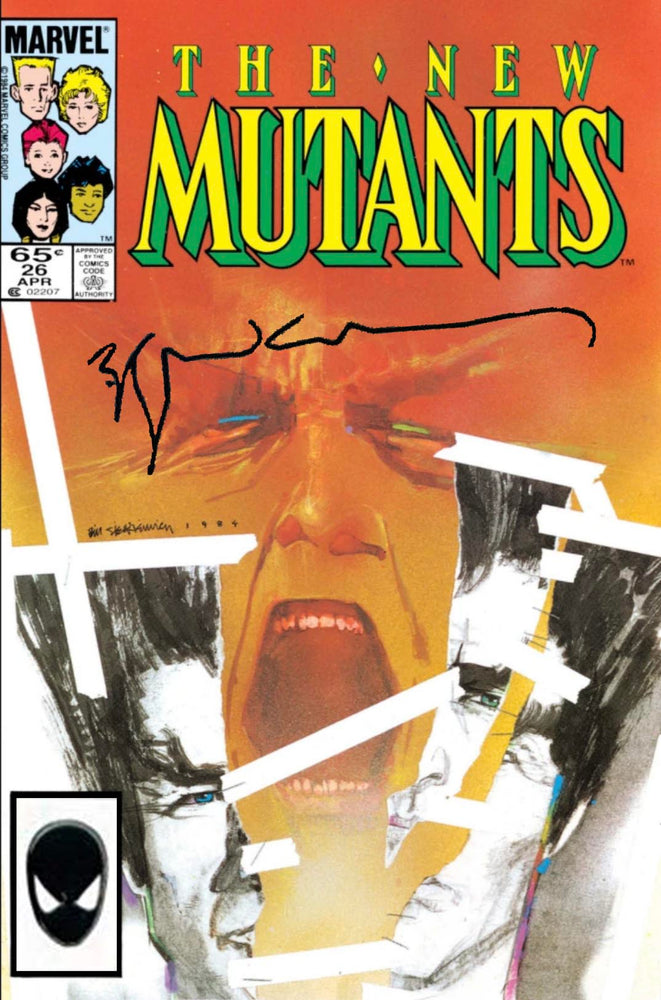 New Mutants #26 Signed