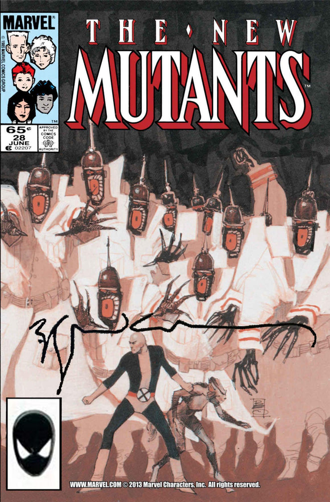 New Mutants #28 Signed