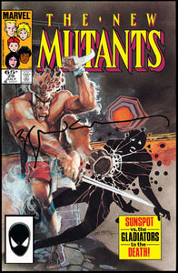 New Mutants #29 Signed