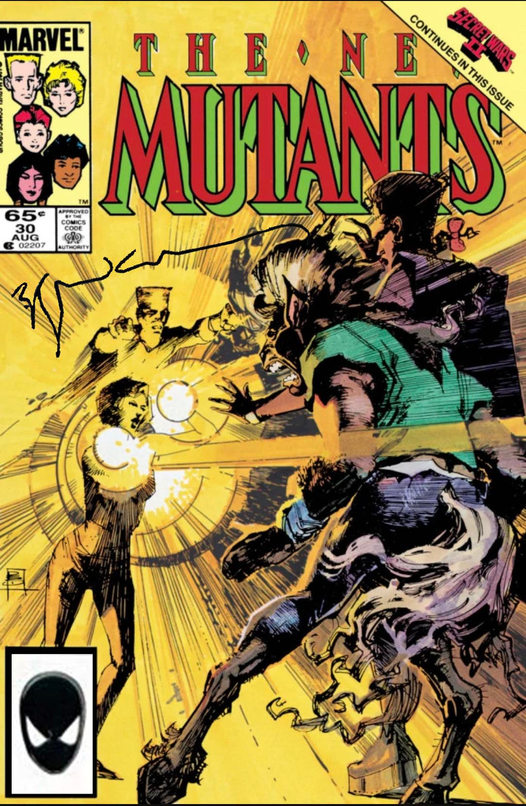 New Mutants #30 Signed