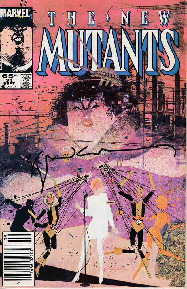New Mutants #31 Signed