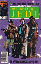 Star Wars Return of the Jedi #1-4 Signed Set