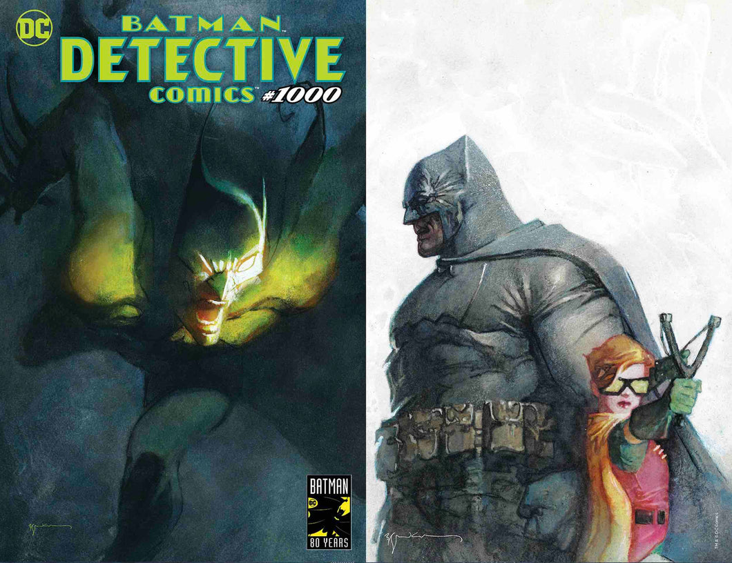 Detective Comics #1000 Sienkiewicz Exclusive Set of 2