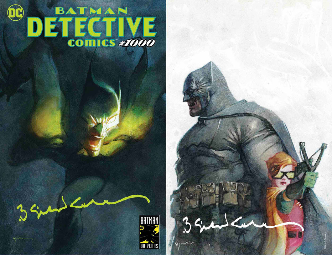 Detective Comics #1000 Sienkiewicz Exclusive Set of 2 - Signed