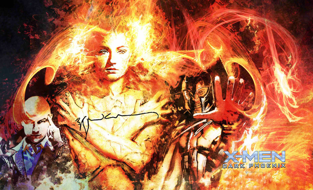 Dark Phoenix Limited Edition Print Signed - Artist Proof