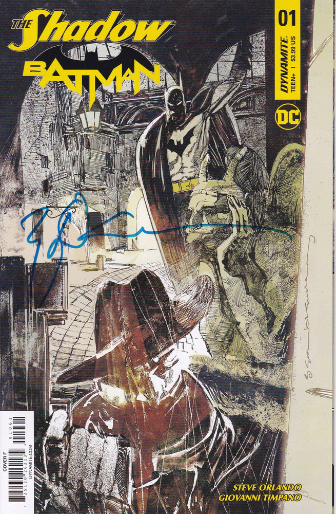 The Shadow/Batman #1 Signed