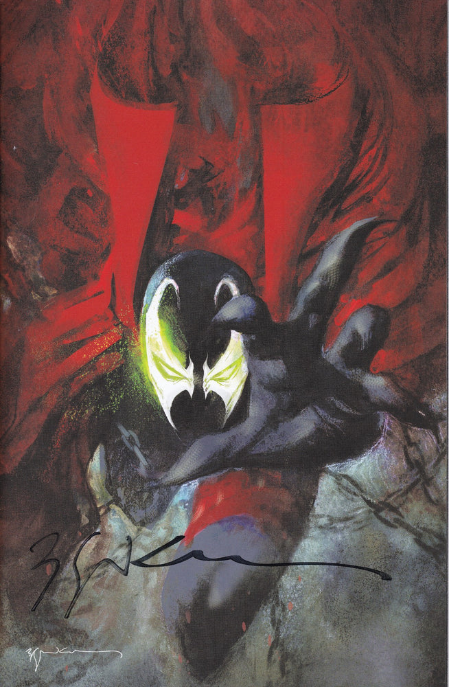 Spawn #301 Virgin Variant Signed