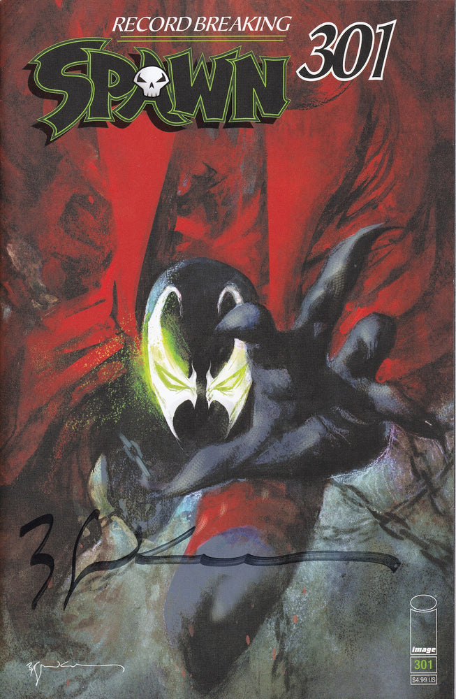 Spawn #301 Signed