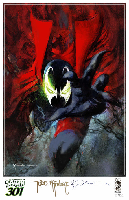 Spawn #301 Limited Art Print