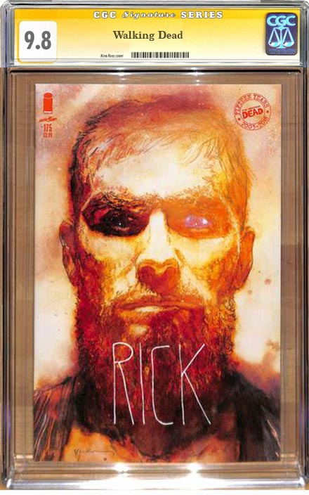 The Walking Dead #175 Sienkiewicz Variant CGC 9.8 Signature Series
