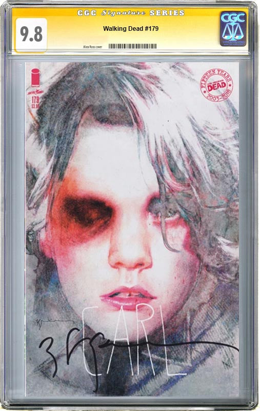 The Walking Dead #179 Sienkiewicz Variant CGC 9.8 Signature Series