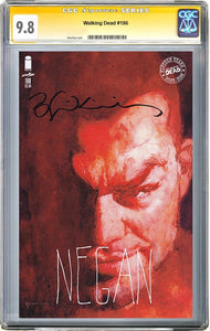 The Walking Dead #186 Sienkiewicz Variant CGC 9.8 Signature Series