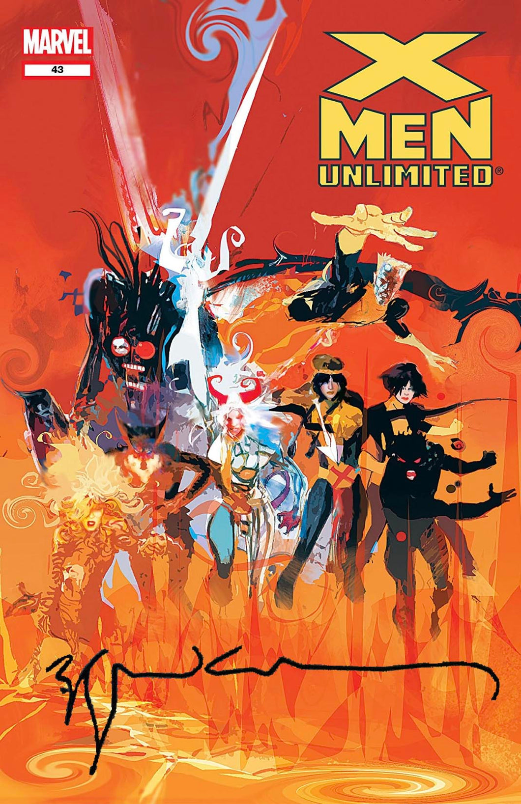 X-Men Unlimited #43 Signed