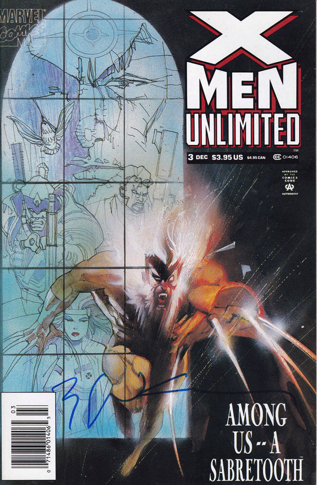X-Men Unlimited #3 Signed